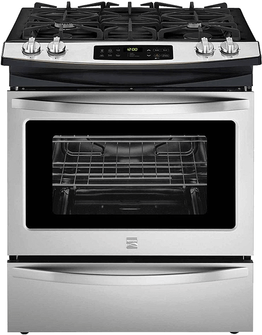 electric gas dual fuel ranges kenmore