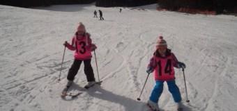 好天、スキー日和!!