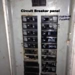 25 Circuit breaker panel