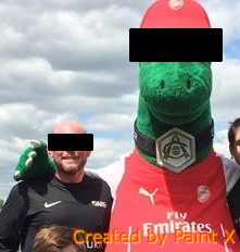Will and Gunnersaurus Rex