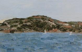 Sailing Angel Island, California
