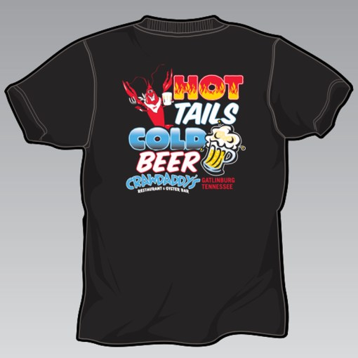 Hot Tails, Cold Beer T-Shirt