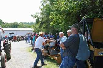 Equipment Auction at our office