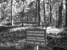 "Confederate works at the ""Dead Angle"""