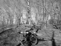 Artillery on Little Kennesaw