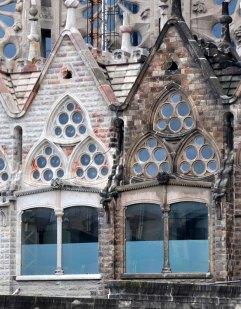 Sagrada Familia exterior detail