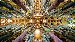 Sagradia Familia nave roof