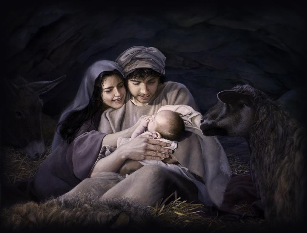 Jesus Lds Mary Baby Art