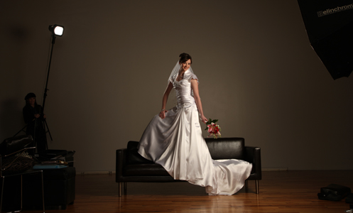 How to Make a Bride Appear Taller