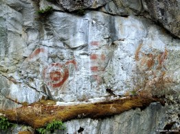 Pictograph - Earls Cove 2
