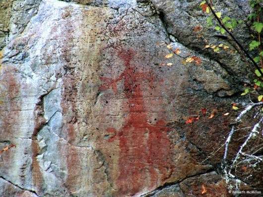 Earl's Cove Pictographs
