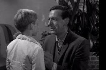 "Jack Klugman in a strong performance for the Twilight Zone episode ""In Praise of Pip"""