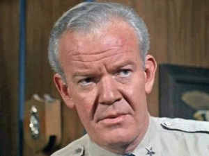 Andrew Duggan as General Theodore Beaumont in The Invaders episode, Doomsday Minus One.