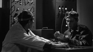 Harry Guardino in The Outer Limits episode, The Human Factor.