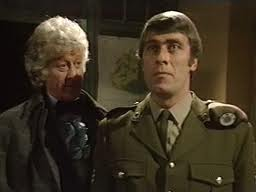 John Levene in Doctor Who.