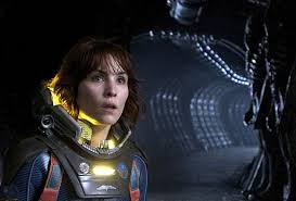 Naoomi Rapace in Prometheus.