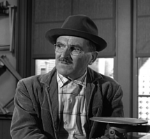 Howard McNear in Twilight Zone.