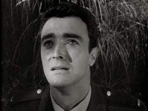 John Considine in The Outer Limits episode, The Man Who Was Never Born.