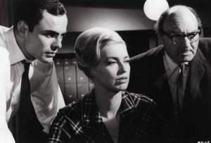 John Carson (left) in Blood Beast from Outer Space.