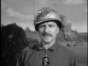 Werner Klemperer in the Lost in Space episode, All That Glitters.