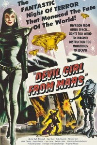 Devil Girl from Mars released in US