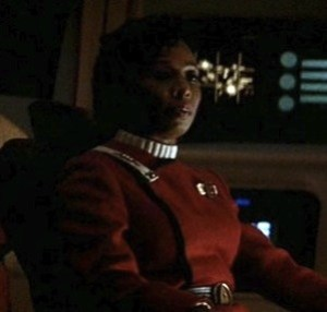 Madge Sinclair in Star Trek IV