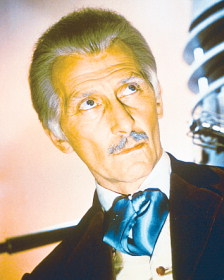 Peter Cushing as Doctor Who