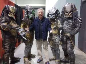 Gary Busey and some old friends.