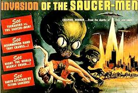 Invasion of the Saucer-Men released