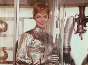 June Lockhart as Dr. Maureen Robinson in Lost in Space