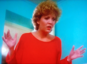 Nancy Allen in Strange Invaders