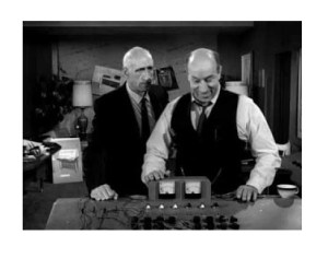 Paul Newlan (left) in Twilight Zone