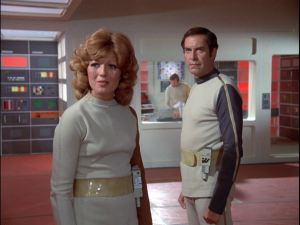 Rula Lenska in Space 1999