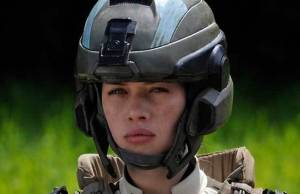 Anna Popplewell in Halo 4