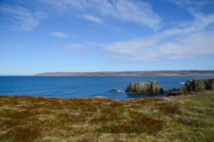 Nordöstra Islands kust strax väster om Bakkafjörður.