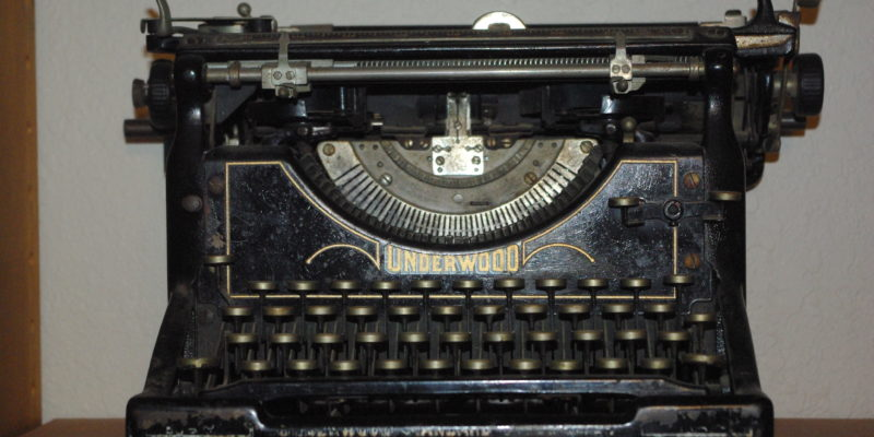 1920's Underwood Typewriter