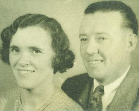 Abe and Marion, 1925