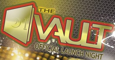 Newbury's new late night venue, The Vault, well and truly sealed.