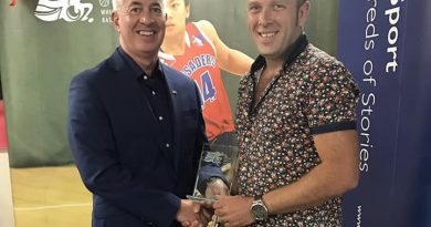 Grant collects development coach of the year