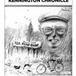 A previous front page of the Kennington Chronicle