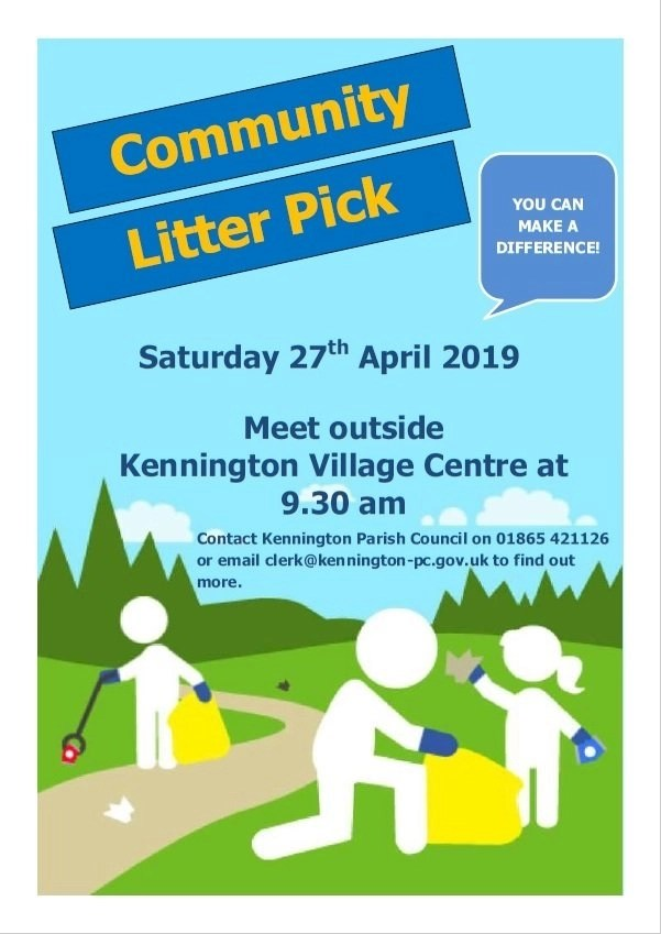 Community Litter Pick Poster