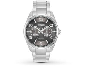 A018 1 20140314478003590 - Citizen Eco-Drive Black Mens Dress Stainless Steel Watch