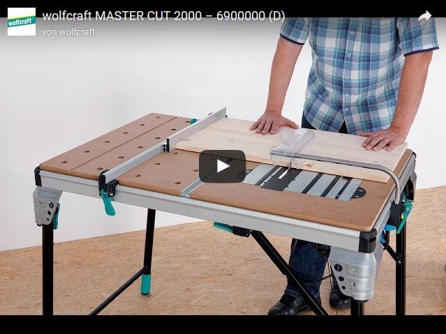 Master Cut 2000 Maschinentisch Wolfcraft