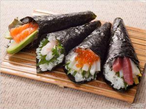手巻き寿司の変わり種