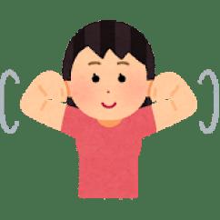 肩や手首の準備運動
