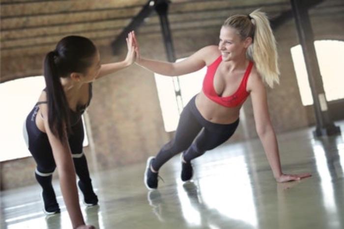 筋肉の増加