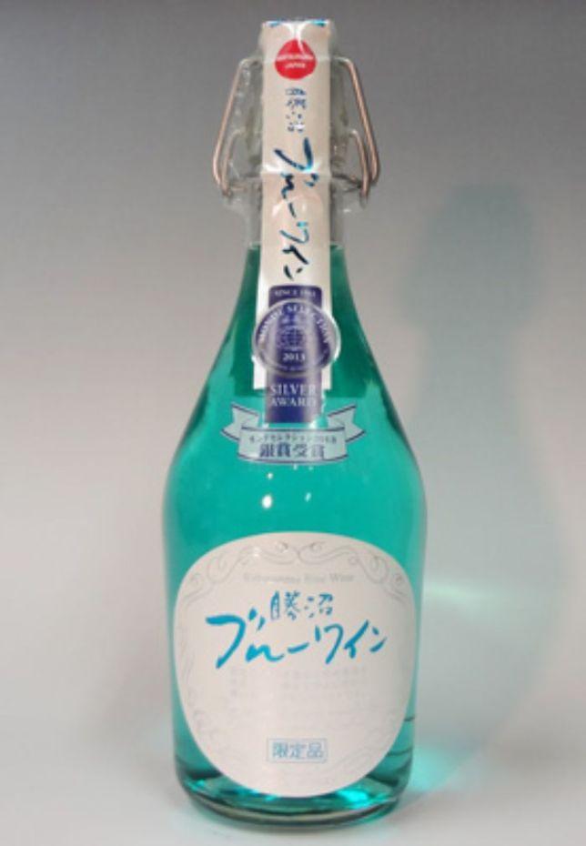 青色食べ物 ブルーワイン
