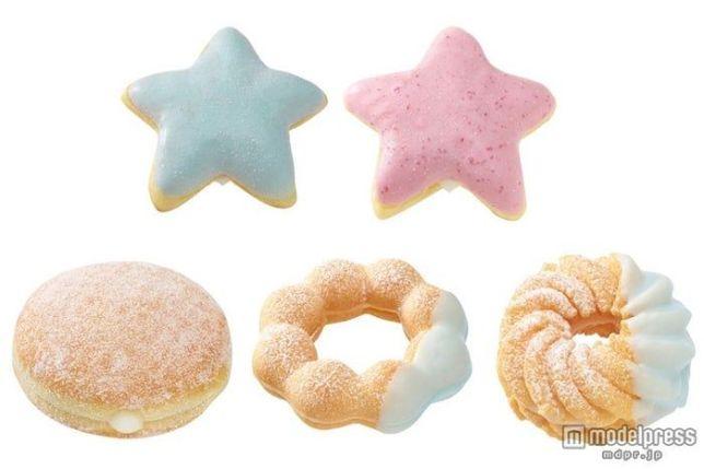 青色食べ物 ドーナッツ