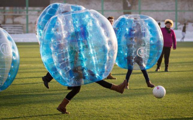 スポッチャ バブルサッカー