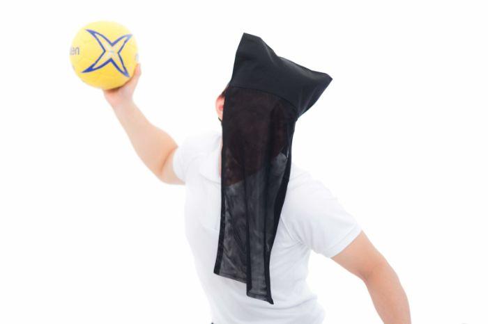 ハンドボール投げ